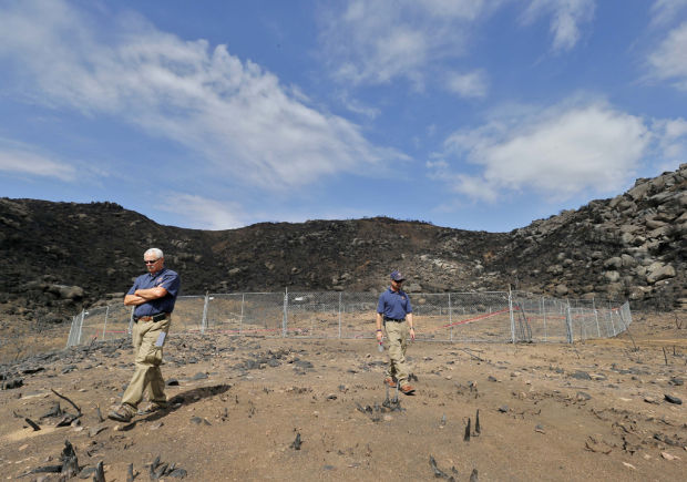 Site where hotshots died was 'moonscape,' records show