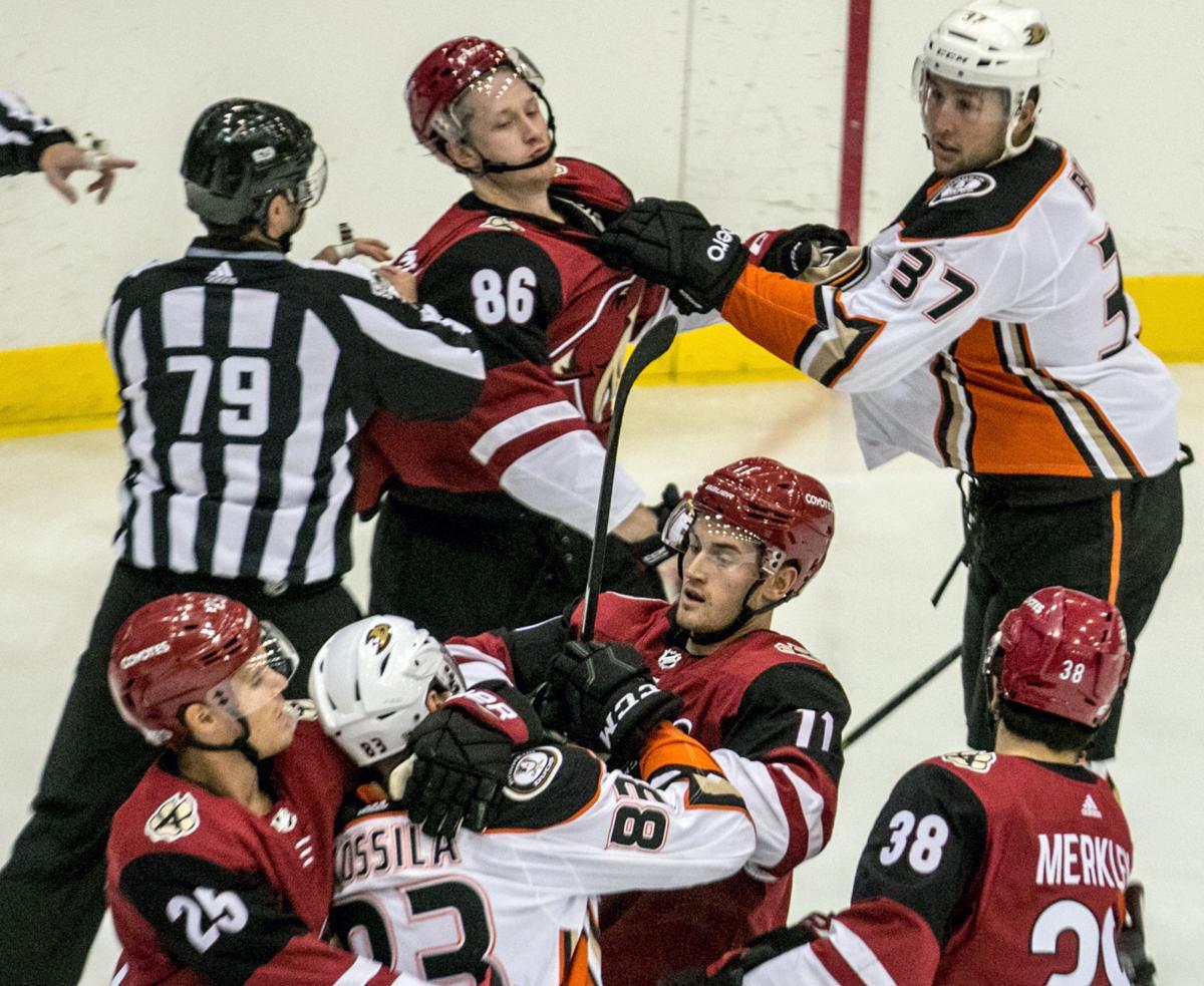 Coyotes vs Ducks Hockey