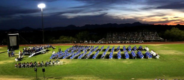 Catalina Foothills High School graduation