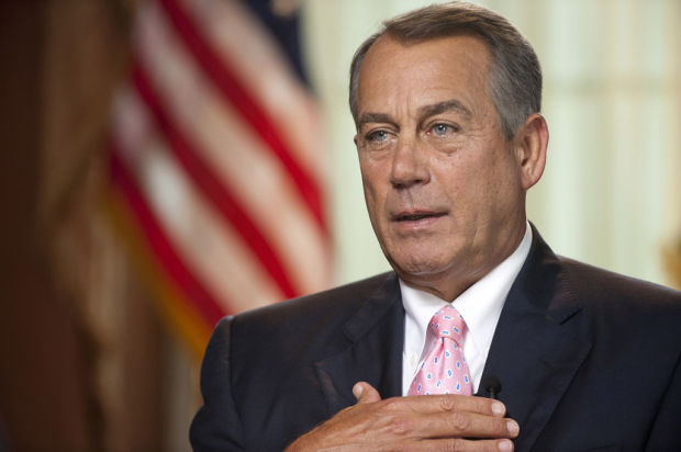 Boehner says his priority is US fiscal problems, not immigration