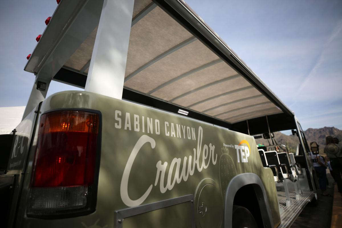 Sabino Canyon Shuttle Launch