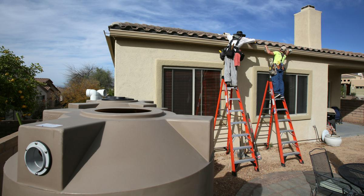 Water Harvesting Rebates Are Now Saving Water Tucson
