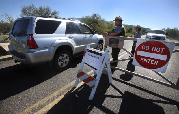 Government shutdown: Saguaro National Park