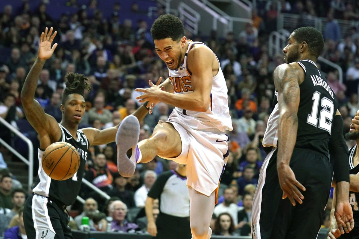 Spurs Suns Basketball