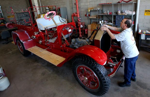 1923 American LaFrance Fire Engine
