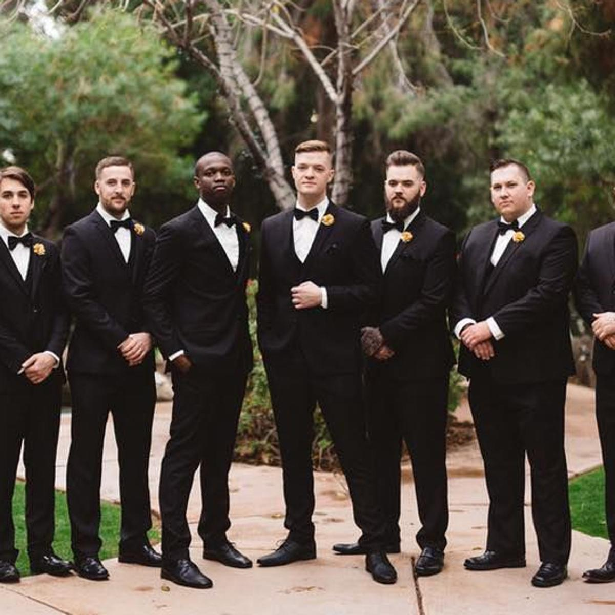 Win a free suit for your groom and his groomsmen | Tucson