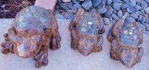 lawn art rock frogs.JPG