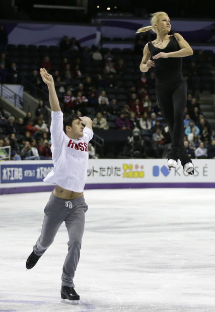 Photo of the day: Practice for the World Figure Skating Championships