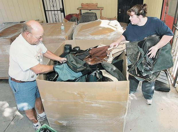 US House's scrap leather finds new life in Tucson