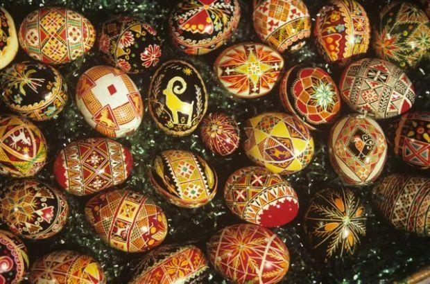 Big Jim: Pysanky — Ukranian Easter eggs