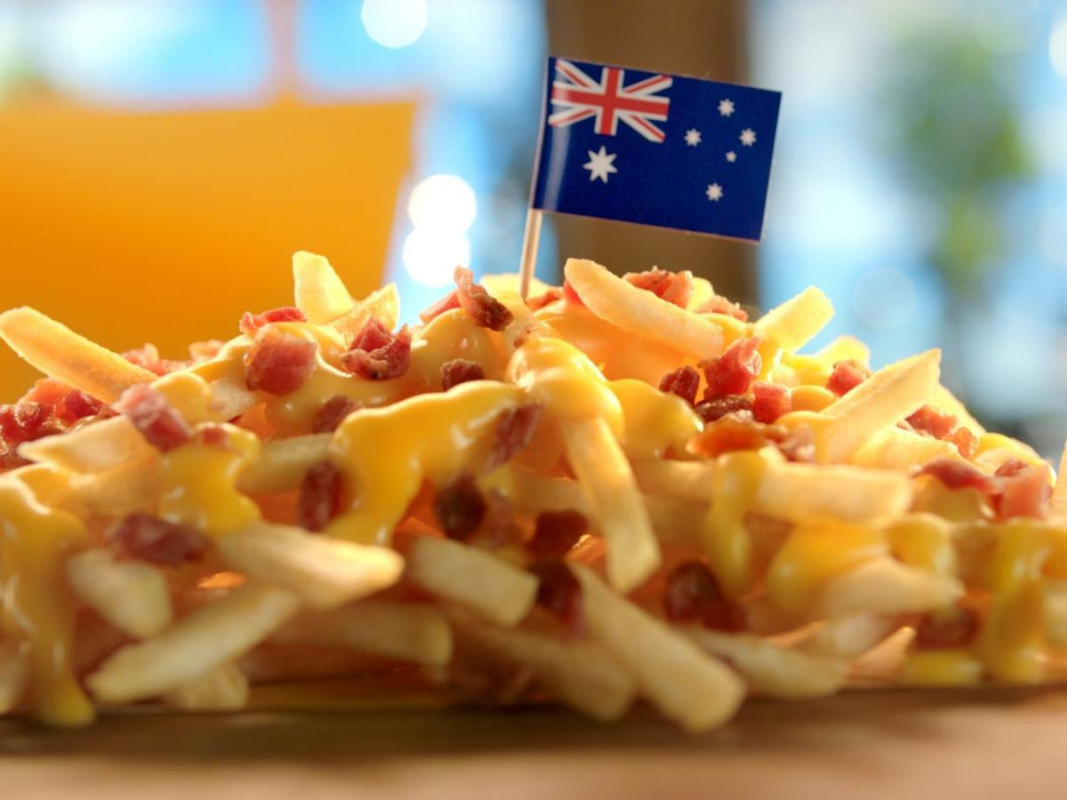 Cheesy Bacon Fries — Austrailia