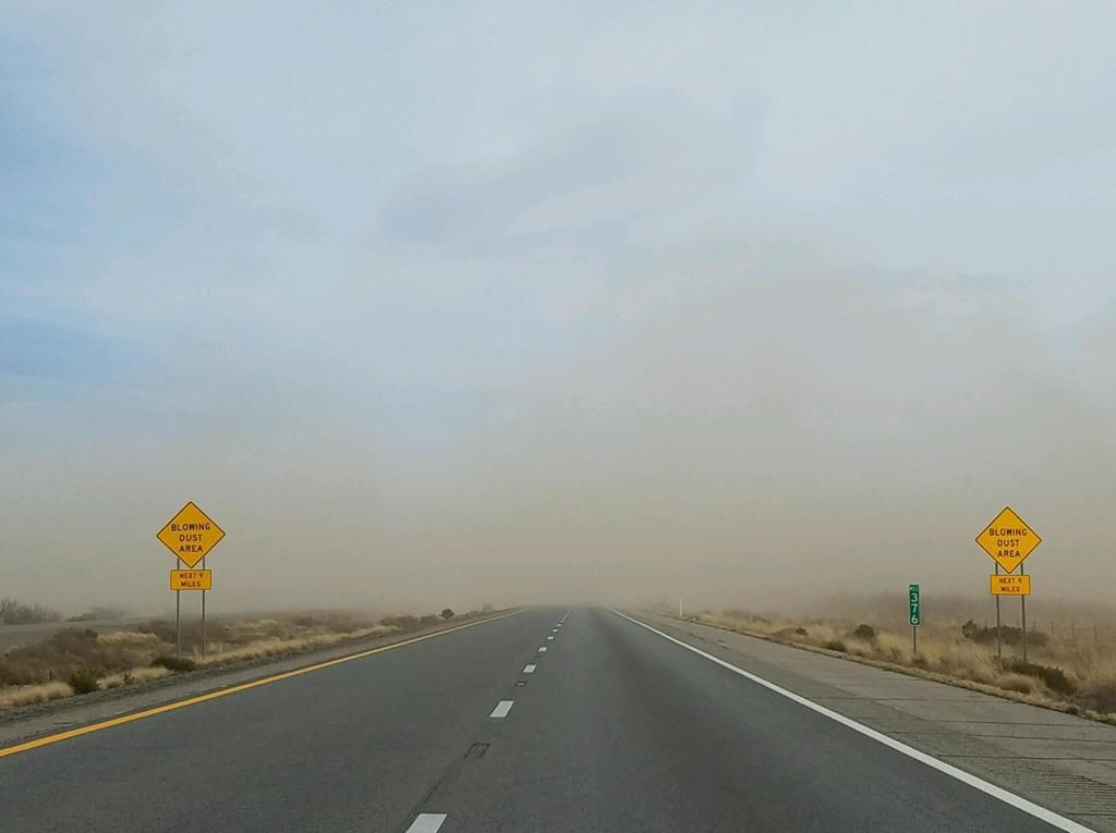 I-10 dust closures