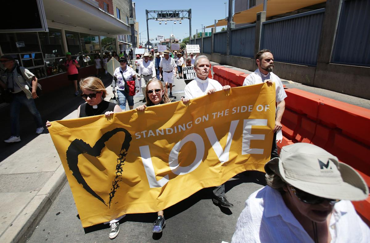 Families Belong Together Rally in Nogales