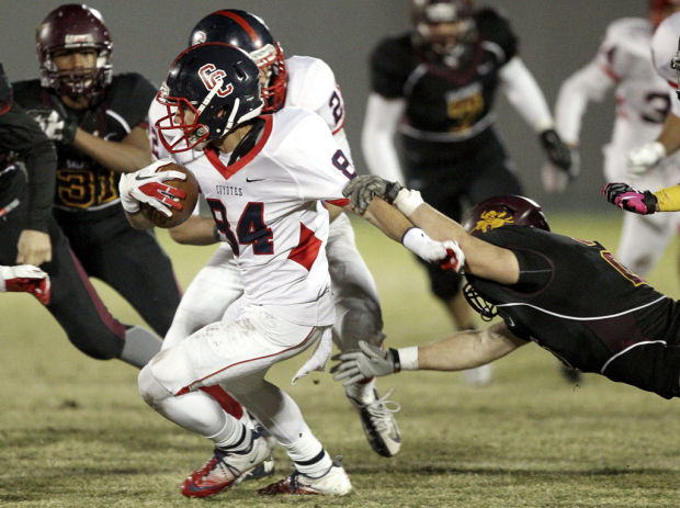 High school football: players to watch: Casteel a disruptive force on D