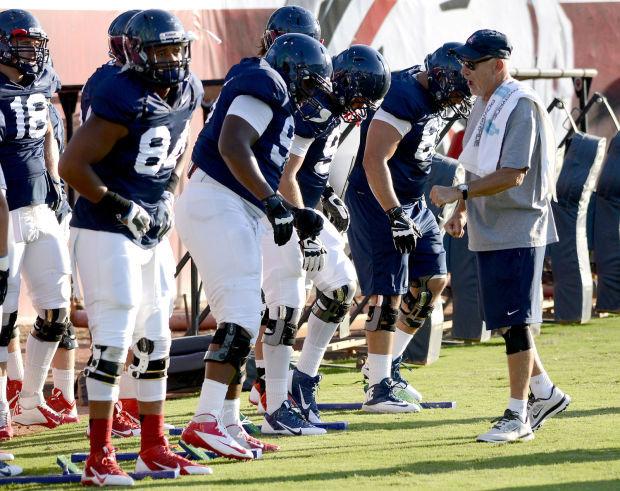UA Football Practice