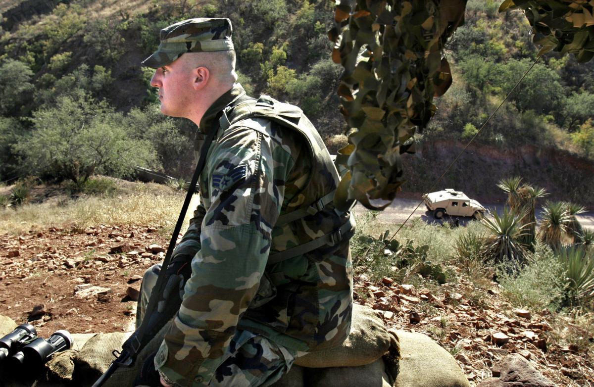 National Guard on the U.S./Mexico border