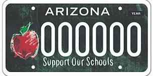 Extraordinary Educators License Plate