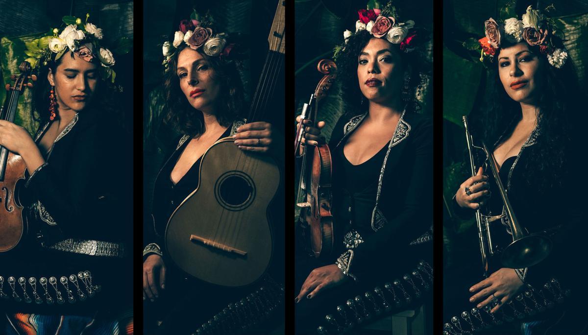 It's a mixed musical world for Mariachi Flor de Toloache