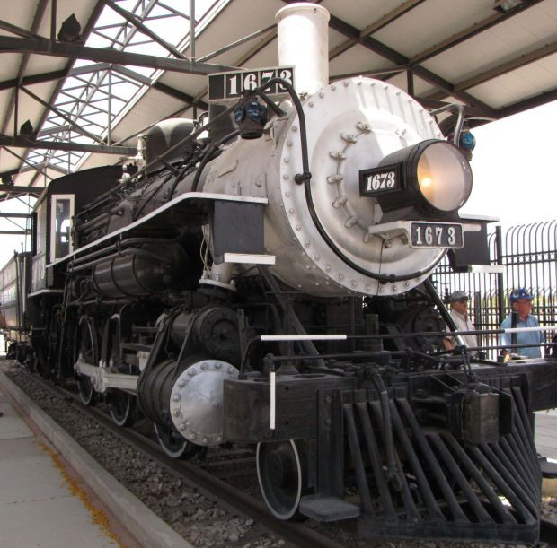Locomotive 1673