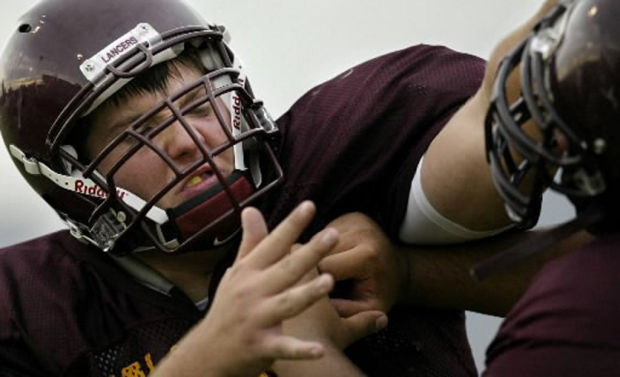 Big man on campus: Salpointe Catholic's top 10: Imposing lineman O'Dowd dominated for Lancers, Trojans