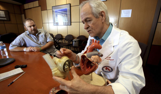 Artificial heart will keep on ticking until transplant