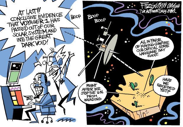 Daily Fitz Cartoon: Outside of reason