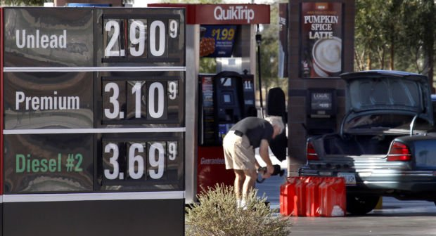Gas Prices Tucson >> Gas Prices Dip Below 3 At Some Tucson Pumps News About Tucson And