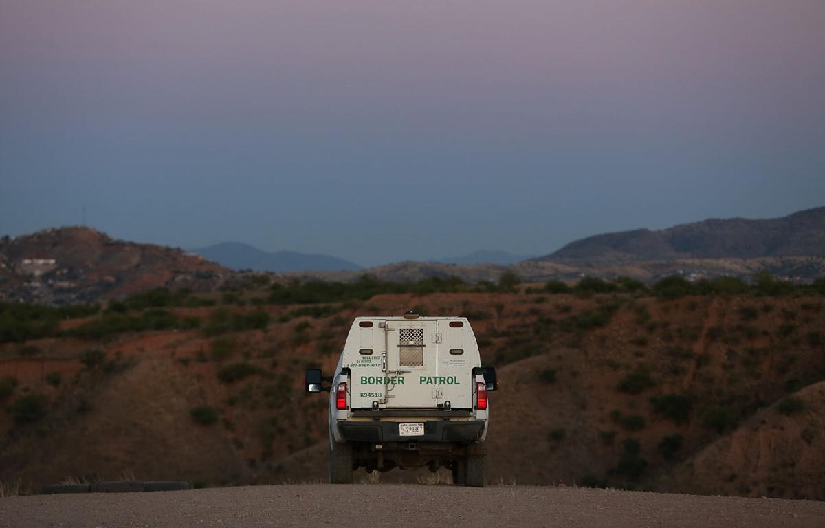Border Patrol near Nogales, Ariz.