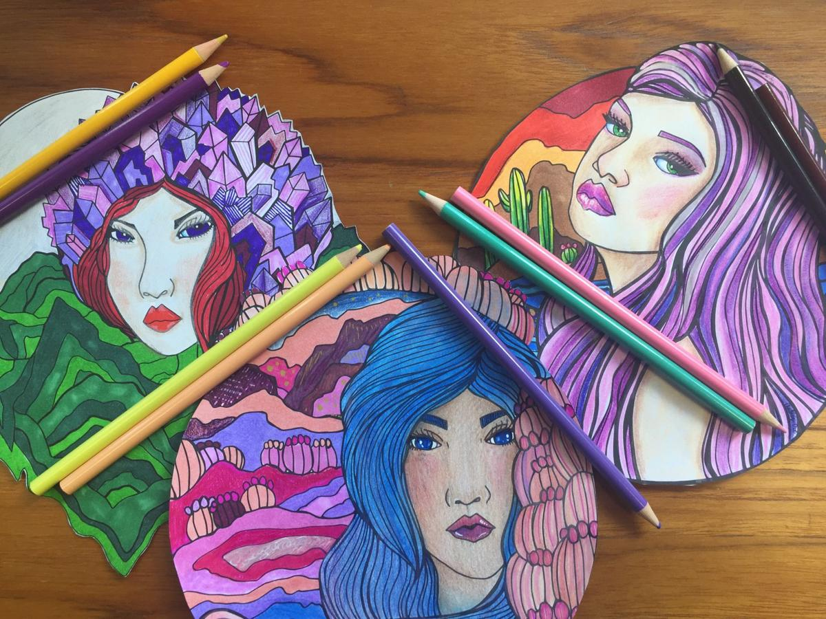 Coloring Pro Tips From The Artist Who Created This Perfect Tucson