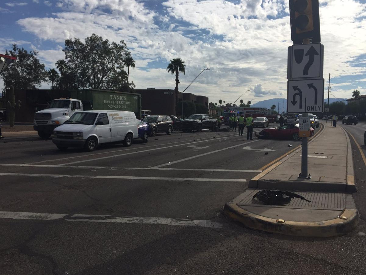 Westbound traffic near Speedway and Wilmot in Tucson reopens
