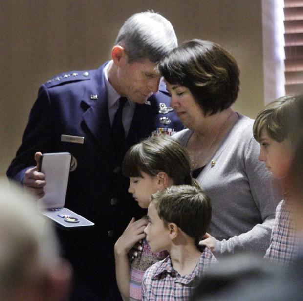 Silver Star venerates D-M officer's sacrifice