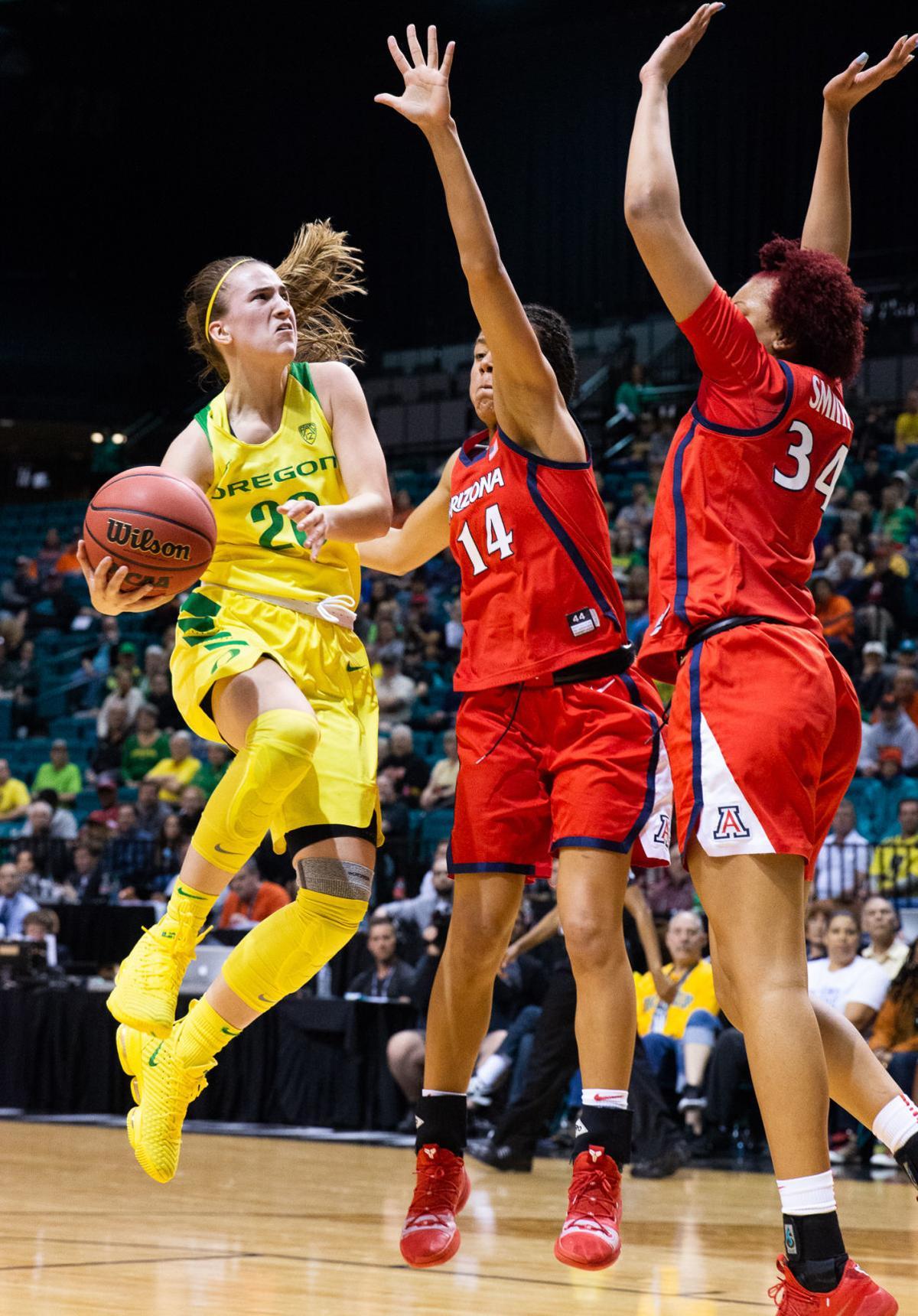 Oregon Arizona Pac-12 women's basketball