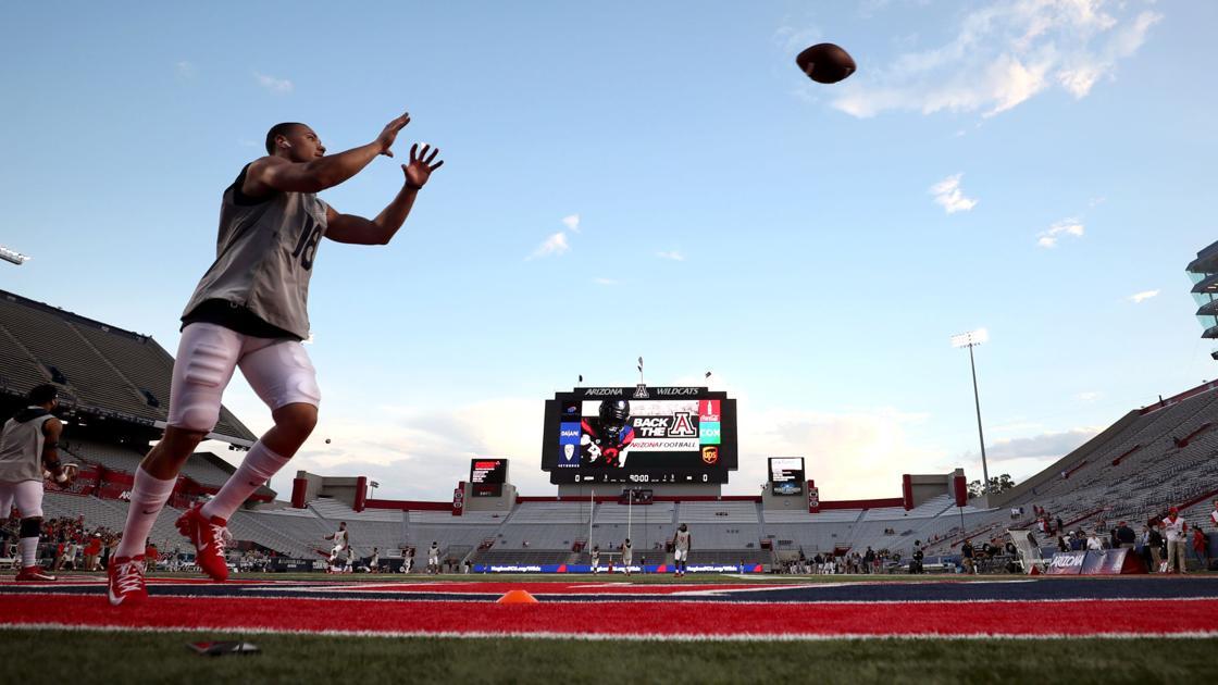 Arizona Wildcats TE Bryce Wolma to miss home opener vs  NAU