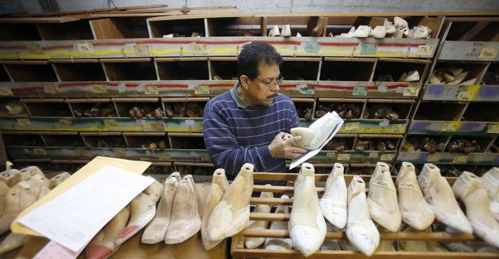Custom Stewart boots crafted by ol
