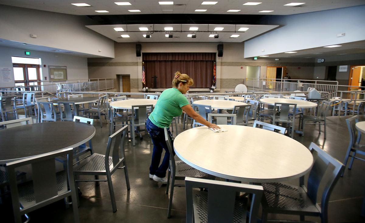 Mary Belle McCorkle Academy of Excellence K-8 School, cleaning