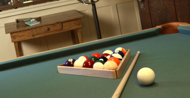 Billiards is a clean game