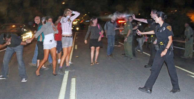 Confrontation with Tucson Police