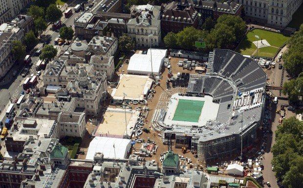 Architect designs for Olympic venues