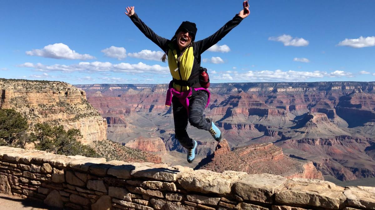 Canyon leap