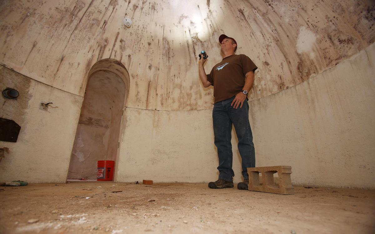 A Real Digger Upper Tucson Man Finds Bomb Shelter In Backyard Local News Tucson Com