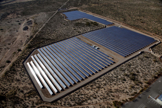 Southeast-side solar plant completed