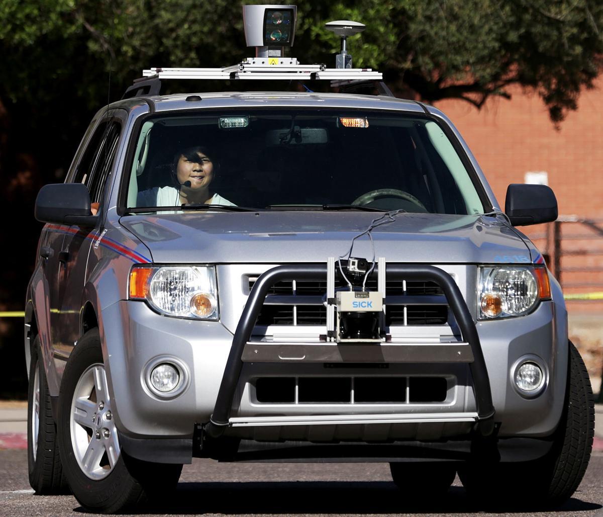 UA autonomous vehicle testing