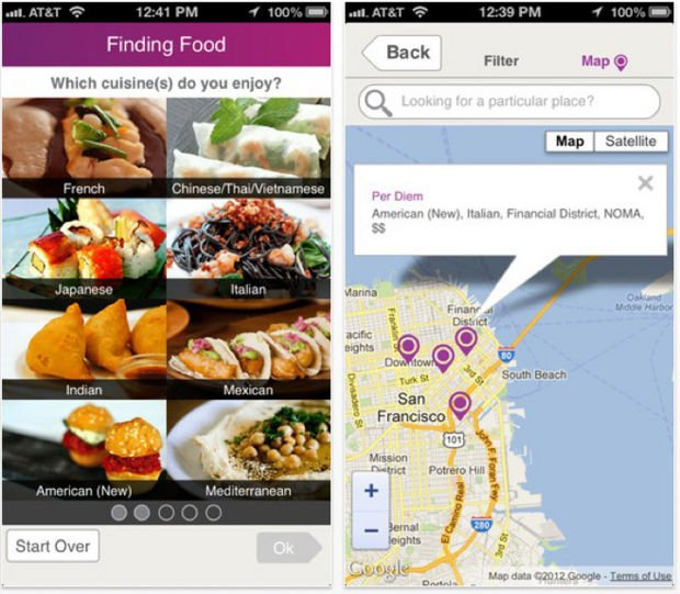 New app matches taste preferences with restaurants
