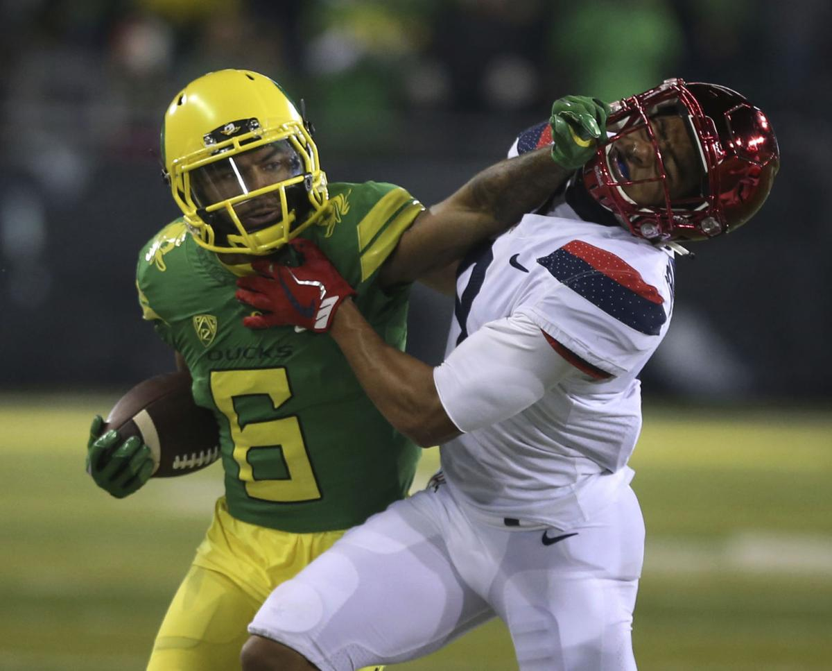 APTOPIX Arizona Oregon Football
