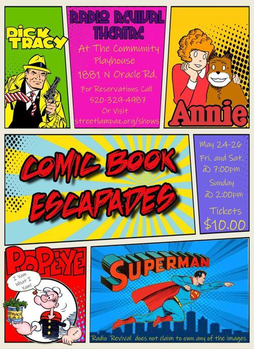 Comic Book Escapades