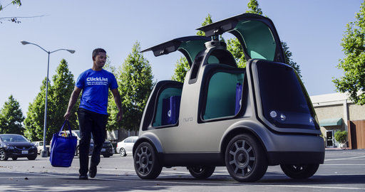 Grocery delivery, with no human drivers, is underway in