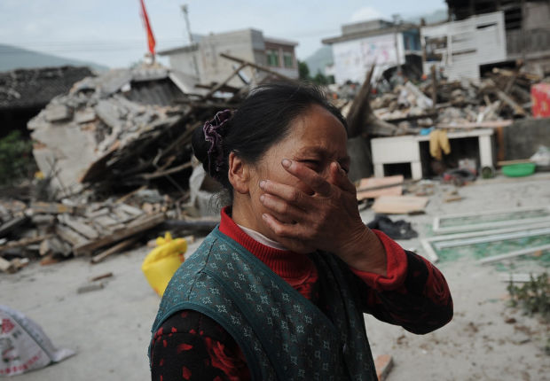 Quake jolts China's Sichuan, killing 179