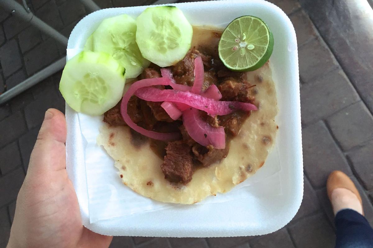 Valeria's food