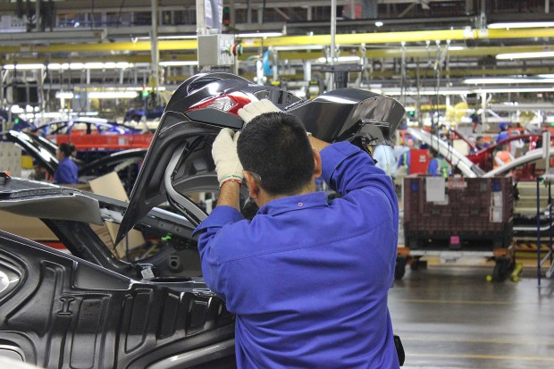 Mexico auto production rates with world's best