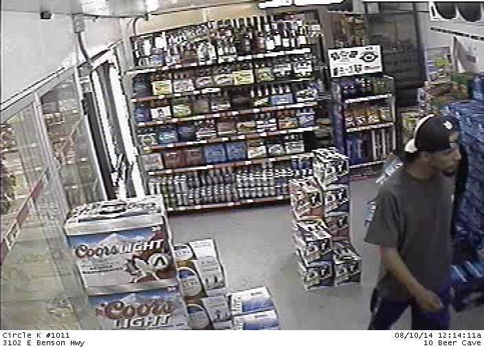 44c4e95431320 Deputies looking for bevy of beer thieves. Four men took turns stealing ...